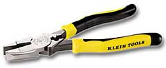 Klein J213-9NECR - Journeyman High-Leverage Side-Cutting Pliers/Crimper