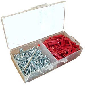 T&B 51-212 - Red-Cap Screw Anchor Kit