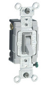 Leviton 54504-2 - 15A 120/277V Toggle Framed 4-Way AC Quiet Switch