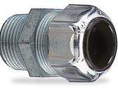 """T&B 2519 - 3/8"""" (.150-.300) Steel Liquidtight Strain Relief Cord Connector"""