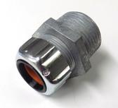 """T&B 2523 - 1/2"""" (.450-.560) Steel Liquidtight Strain Relief Cord Connector"""