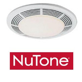 NuTone 8663RP - Deluxe Exhaust Fan with Light & Night-Light