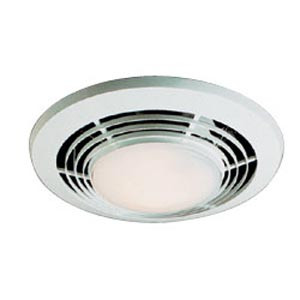 Nutone Qt9093wh Heater Exhaust Fan With Light Night Light