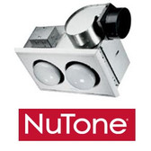 NuTone 9427P - 2 Bulb Heater with Exhaust Fan