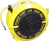 "Power Port HR5038-ORS - 3/8"" x 50' Air Hose & Reel Assembly"
