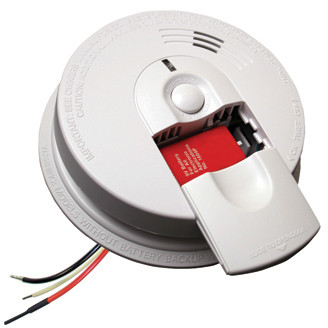 FireX Kidde I4618 AC/DC - Smoke Alarm 120V Direct Wire with Battery Back-Up