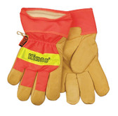 Kinco 1938 - Insulated Lined Pigskin Safety Cuff Gloves