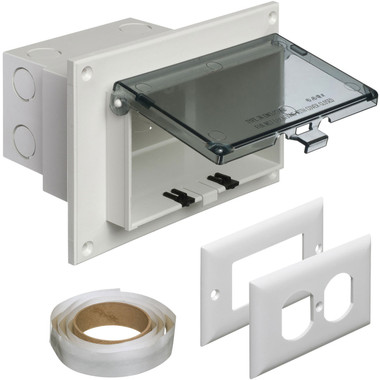 Arlington DBHR1C - Horizontal Recessed IN BOX for Retrofit Construction with Clear Cover