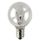 Bulbrite KR25G11CL - Krypton G11 E12 25W 120V Bulb