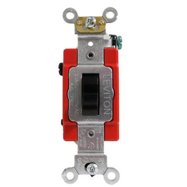 Leviton 1223-2 - 20A, 120/277V Toggle 3-Way AC Quiet Switch