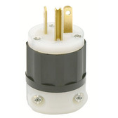 Leviton 5366-C - 20 Amp 125 Volt 2 Pole Straight Blade Plug