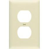 Leviton 86103 - 1-Gang Duplex Device Wallplate