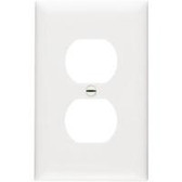 Leviton 88103 - 1-Gang Duplex Device Receptacle Wallplate