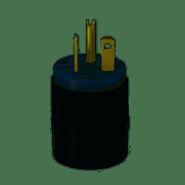 Leviton 5466-C - 20 Amp, 250 Volt 2 Pole Straight Blade Plug