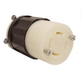 Leviton 2433 - 20 Amp, 480 Volt 3 Pole Locking Connector