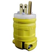 Leviton 1447 - 15 Amp, 125 Volt 2 Pole Straight Blade Dustguard Plug