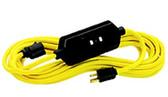 Leviton GFA15-2C - 15 Amp, 125 Volt, NEMA 5-15, 2 FT. Cord Set