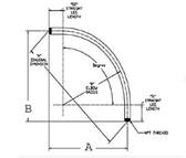 Aluminum 3/4ALUM 90D - Conduit Elbow