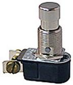 Selecta SS216-11-BG - SPST PUSH-On PUSH-OFF, 6 Amp Pushbutton Switch