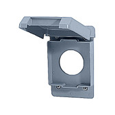 Carlon E98G20N -  20A  Single Receptacle Weatherproof Cover