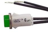 Selecta SL53413-4-BG - 14 Volt Green Indicator Light