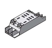 Selecta SR6908ABG - Track/Surface Mounting Relay Socket