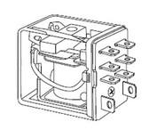 Selecta SR70S200A7 - DPDT 120 VAC Coil, 10 Amp Relay