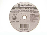 "Metabo 655320000 - 3"" Type 1 ""Original Slicer"" Cutting Wheel - Small Grinders"