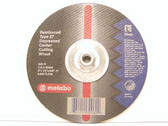 "Metabo 655302000 - 9"" Type 27 Depressed Center Cutting Wheel - Large Grinders"