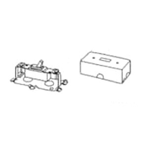 Wiremold (V57240) 500 & 700 Series Single Pole Switch & Box