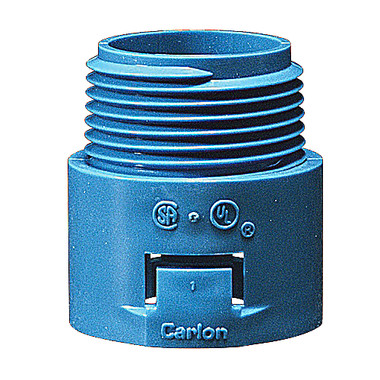 """Carlon A243F - 1"""" ENT Quick Connect Male Adapter - Threaded"""