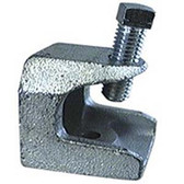 """T&B 502 - 3/8""""-16 Threaded Openings Beam Clamp - Malleable Iron"""