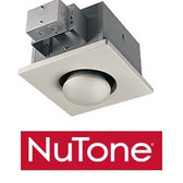 NuTone 9412D - One-Bulb Heat-A-Lamp (Non IC)