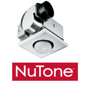 NuTone 9417DN - One-Bulb Heat-A-Vent (IC Model)