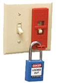 Brady 65392 - Wall Switch Lockouts