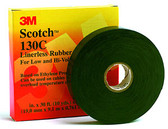 "3M 130C2x30' - Scotch 130C Linerless Rubber Splicing Tape - 2"" x 30'"