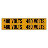 Brady 44215 - 4/Card Voltage Marker