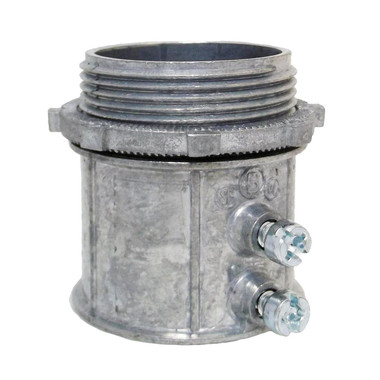 """Bridgeport 234-DC2 - 1-1/2"""" EMT Set Screw Connector"""