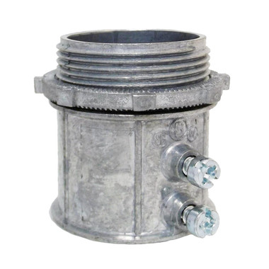 "Bridgeport 235-DC2 - 2"" EMT Set Screw Connector"