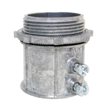 """Bridgeport 236-DC2 - 2-1/2"""" EMT Set Screw Connector"""