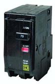 Square D QO270 - QO 70A Double Pole 120/240V Circuit Breaker