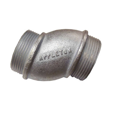 "Appleton OFN-150 - 1-1/2"" Offset Nipple"