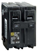 Square D HOM220 - HOM 20A Double Pole 120/240V Circuit Breaker