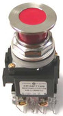GE CR104PTY209311 - Push Pull Non-Illuminated Red Lens 2 Position Maintained Switch