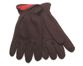 Kinco 820RL-L - Insulated Brown Jersey Gloves