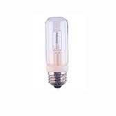 Bulbrite Q100CL/EDT - 100W T8 Standard Base Halogen - Clear Bulb