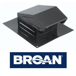 Broan 636 - Roof Cap - Black
