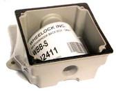Wheelock WBB-S - Weatherproof Back Box Gray