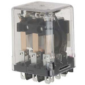 Potter Brumfield KUP14A15240 - Relay Enclosed 3PDT 10A 240VAC