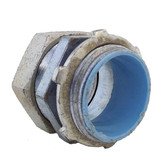 "Bridgeport 252-DCI2 - 1"" Compression Connector W/ Insulated Throat"